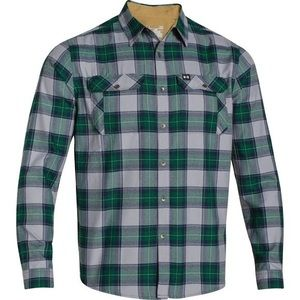Under armor plaid flannel shirt